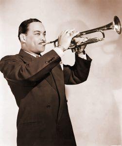 Buck Clayton color trumpet up