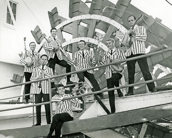 Barbary Coast Jazz Band on paddleboat