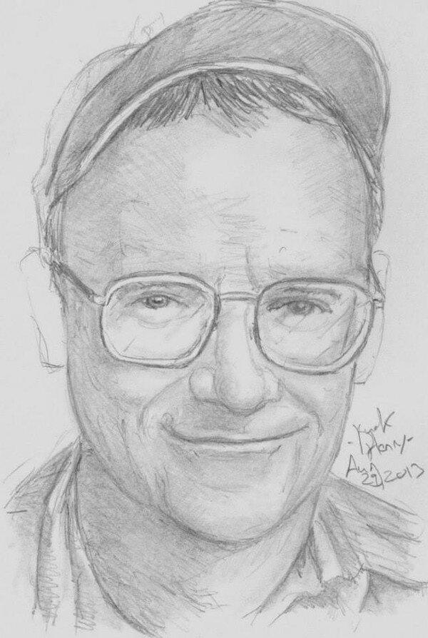 Buck Henry by Darren Moore