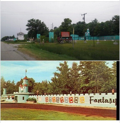 Deer Acres before and after