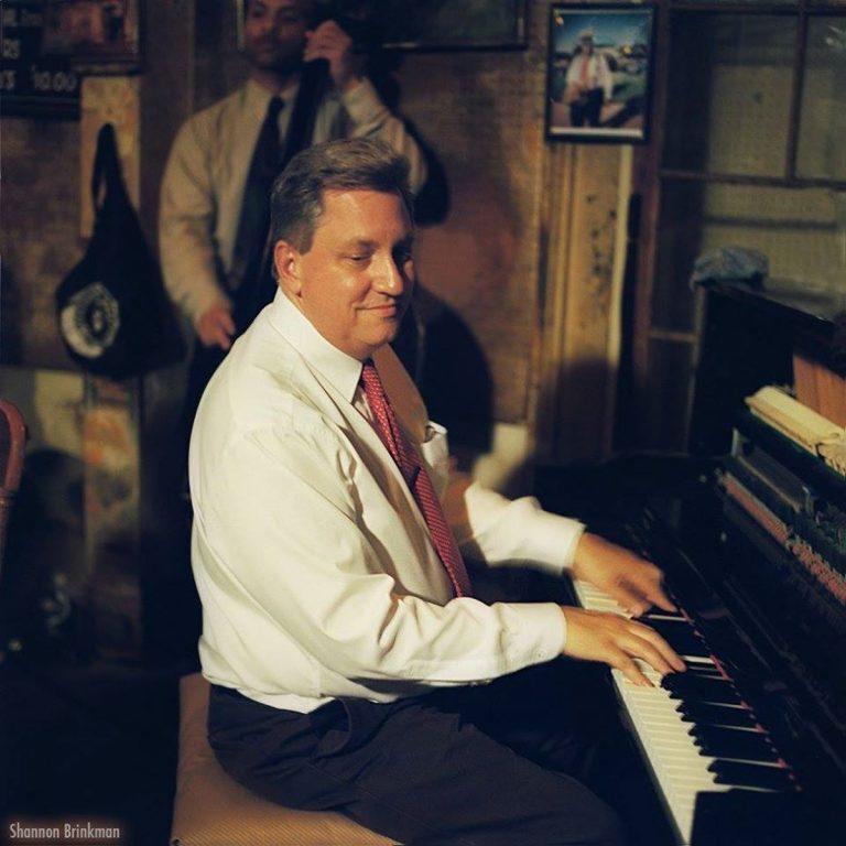 John Royen at the piano