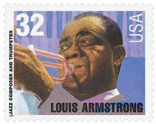 Louis Armstrtong stamp