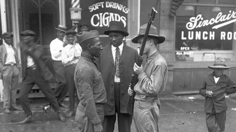 Red Summer Black Veteran Chicago Riot