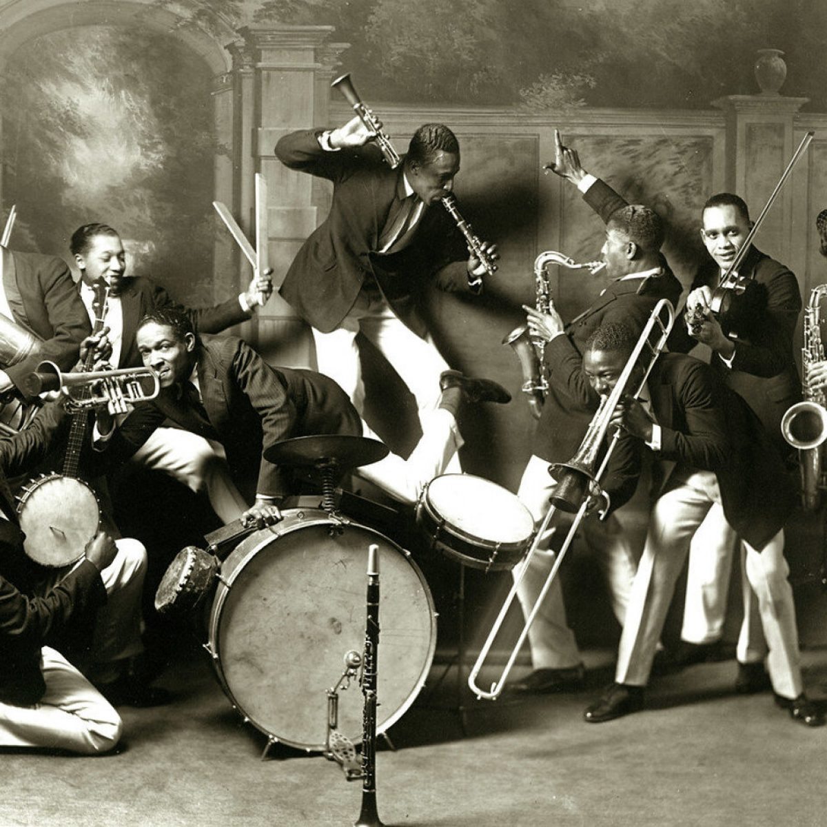 St Louis Cotton Club Band 1925