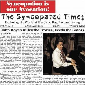 Syncopated Times 2020-02 February cover detail