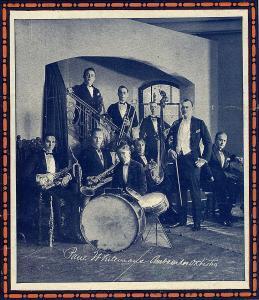 Paul Whiteman band 1921