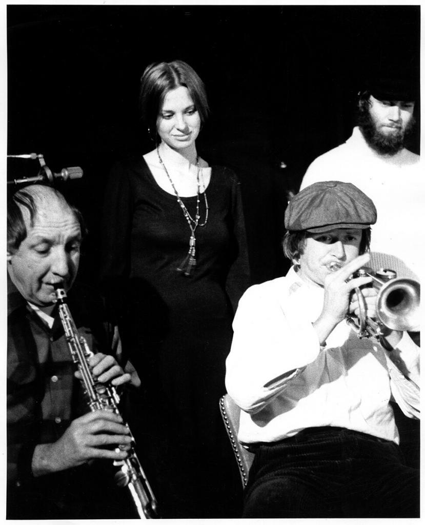 Diane Holmes at Mandrakes 1974 Strachwitz