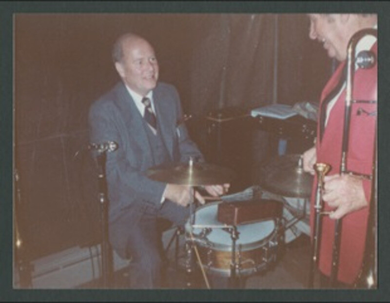 Chuck Huggins with Turk