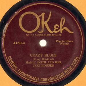 Mamie Smith Crazy Blues