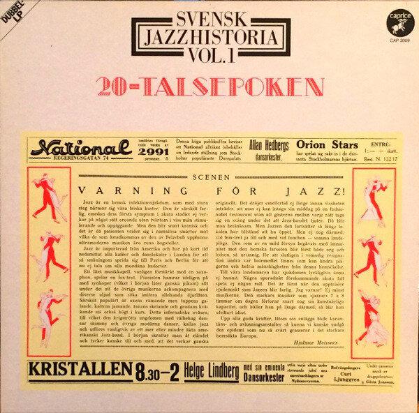 Swedish jazz Vol 1