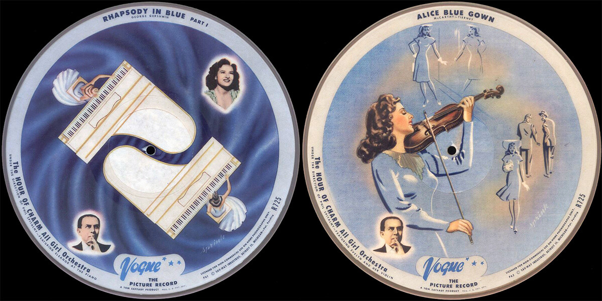 Hour of Charm picture discs