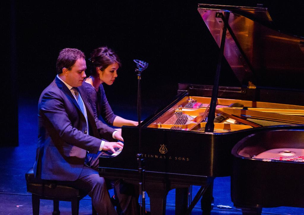 Paolo Alderighi and Stephanie Trick photo by Chris McGuire