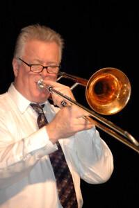 John Gill on trombone