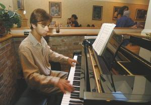 A young Kris Tokarski at The Jazz Corner. (From Myspace)