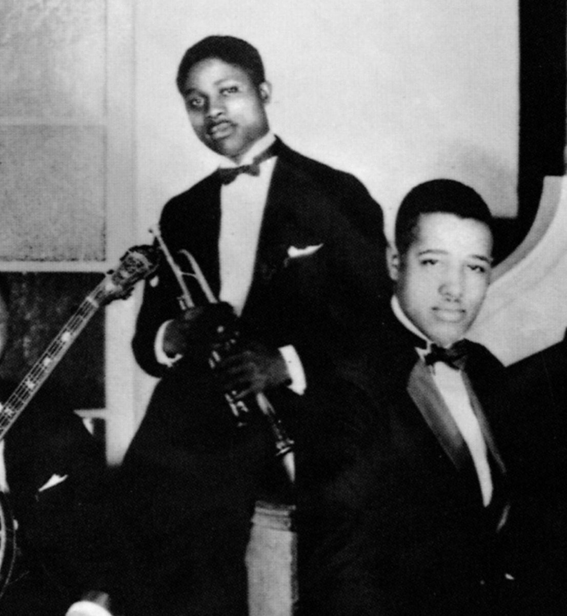 "James ""Bubber"" Miley and Duke Ellington, ca. 1926"