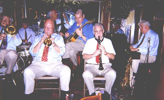 Bucher in jazz band via Joe Licari