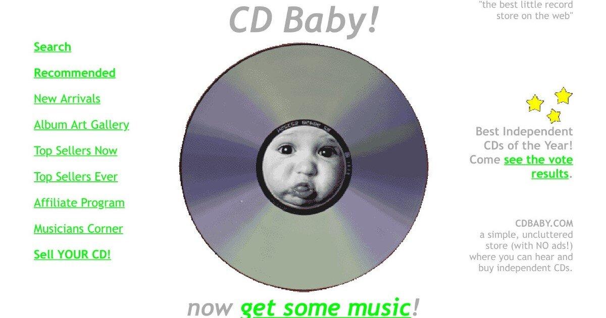 cdbaby.com c. 2001