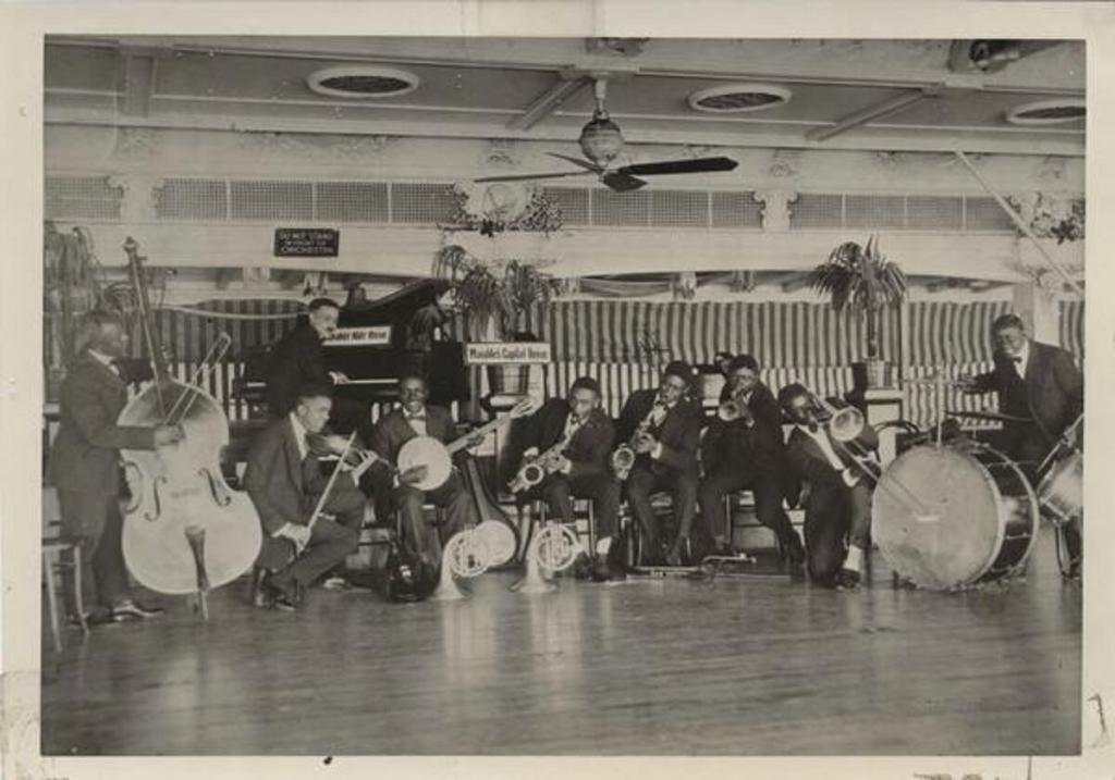 Fate Marable's Orchestra Streckfus Steamer SS Capital
