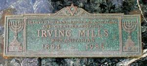 Irving Mills Grave