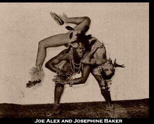 Joe Alex and Josephine Baker