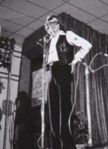 Peter Lundberg at the 1974 Scott Joplin Ragtime Festival