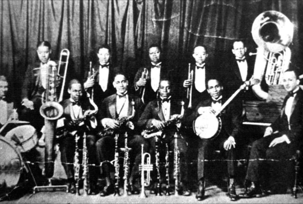 Louis Armstrong with Fletcher Henderson Orchestra