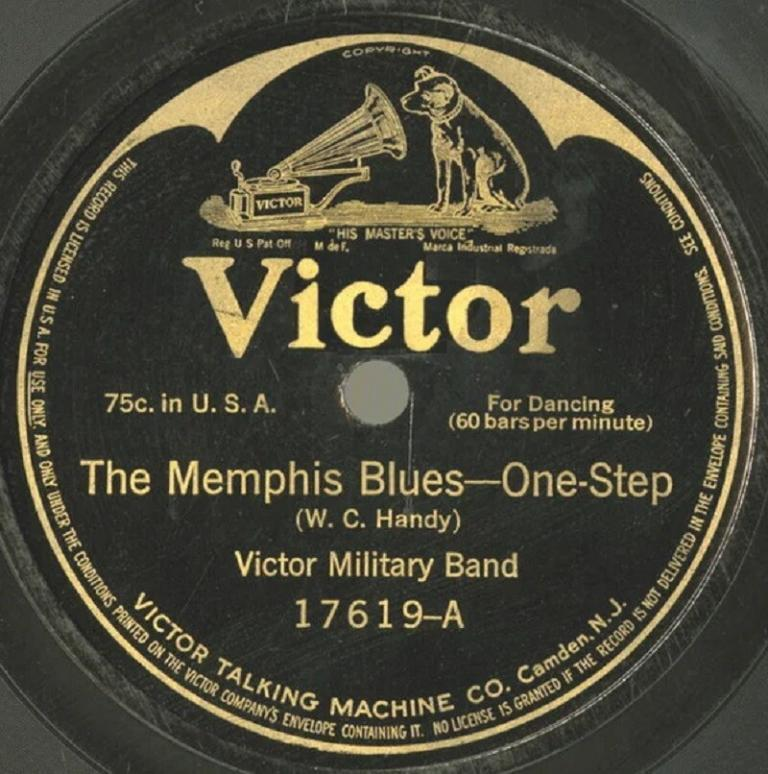 Memphis Blues First Blues Record