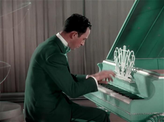 Roy Bargy in king of jazz