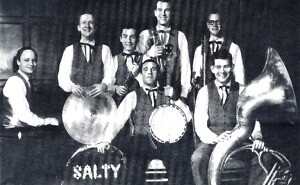 Eddy Davis at 17 with The Salty Dogs