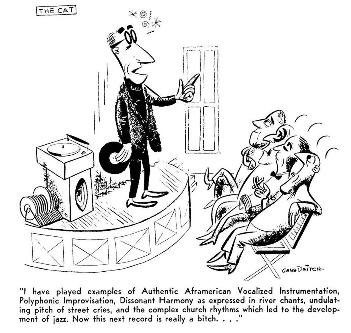 The Cat Gene Deitch