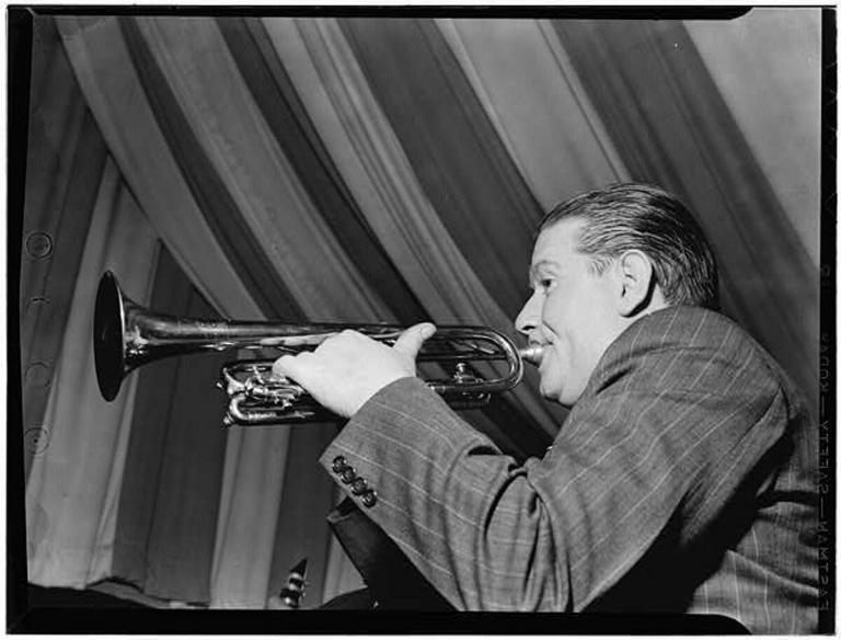 Wild Bill Davison, Eddie Condon's, NYC, June 1946. Photography by William P. Gottlieb
