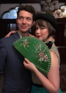 Evan Arntzen and his fiancée Scout Opatut