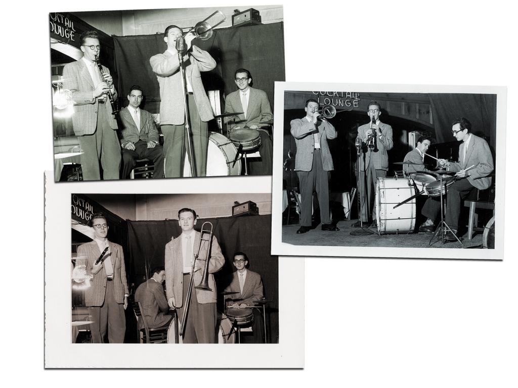 Mielke quartet at Victor DeSavia's in Albany, CA