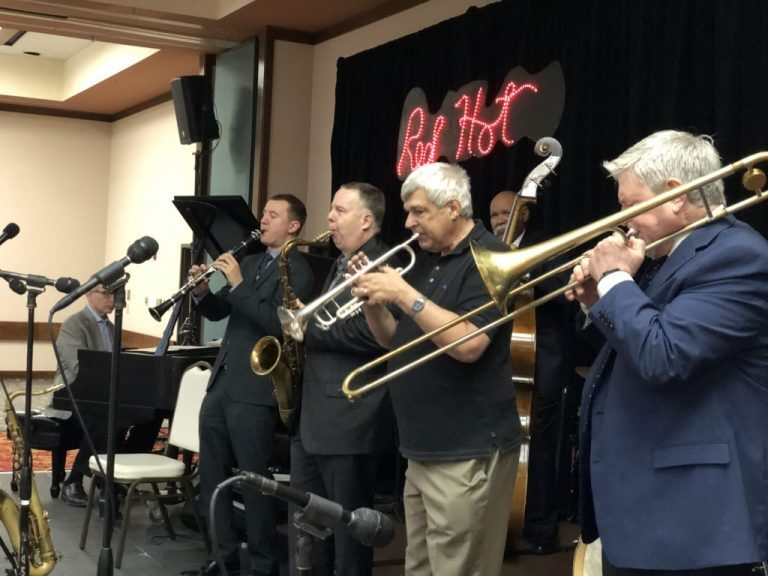 The popular Saturday Brunch Set at the 2019 West Texas Jazz Party