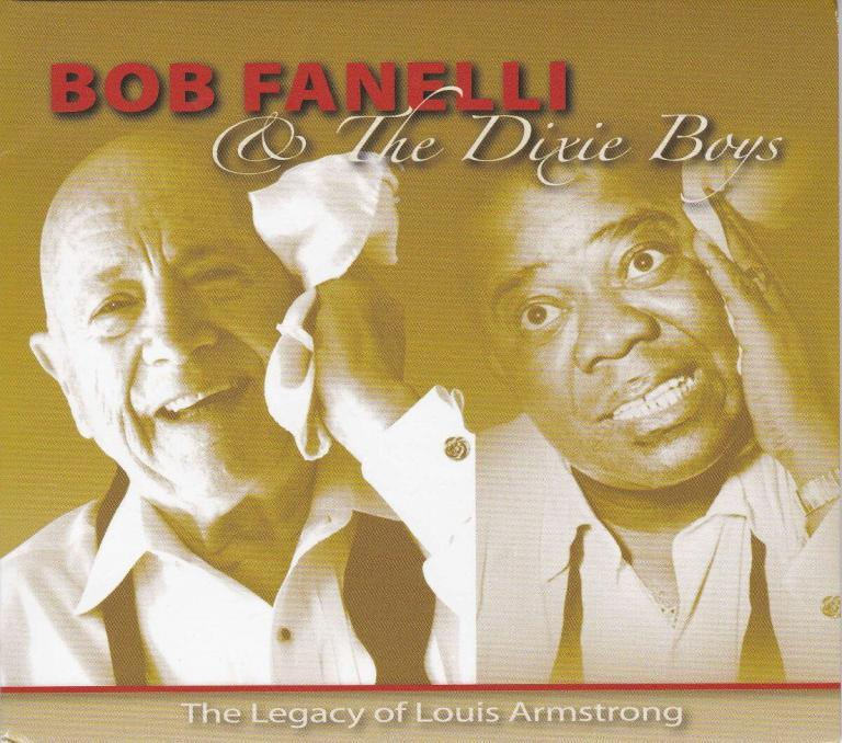 Bob Fanelli Legacy of Louis CD cover