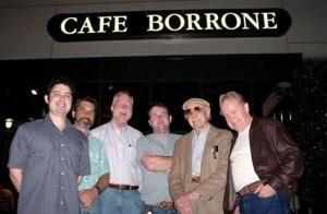 Cafe' Borrone All Stars with Leon Oakley and Bob Helm 2001