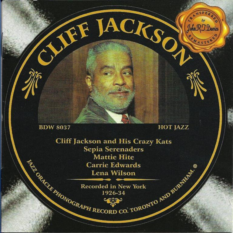 Cliff Jackson 1926-1934