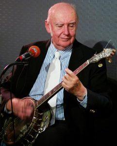 Dick Sheridan on banjo Toni Horrace