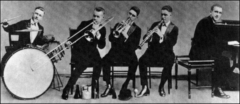 Jimmy Durante's Original New Orleans Jazz Band - 1917