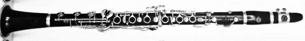 Fig. 7. This a picture of a Selmer Improved Albert System (L-series) clarinet in Bb as played by Johnny Dodds in 1940 (from E. Kraut).