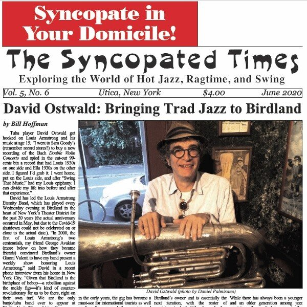 Syncopated Times 2020-06 June David Ostwald