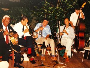 Jam session at William Carter's house with Narvin Kimball, banjo 1990