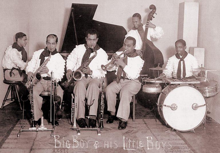 Big Boys Little Boys - sitting 1936