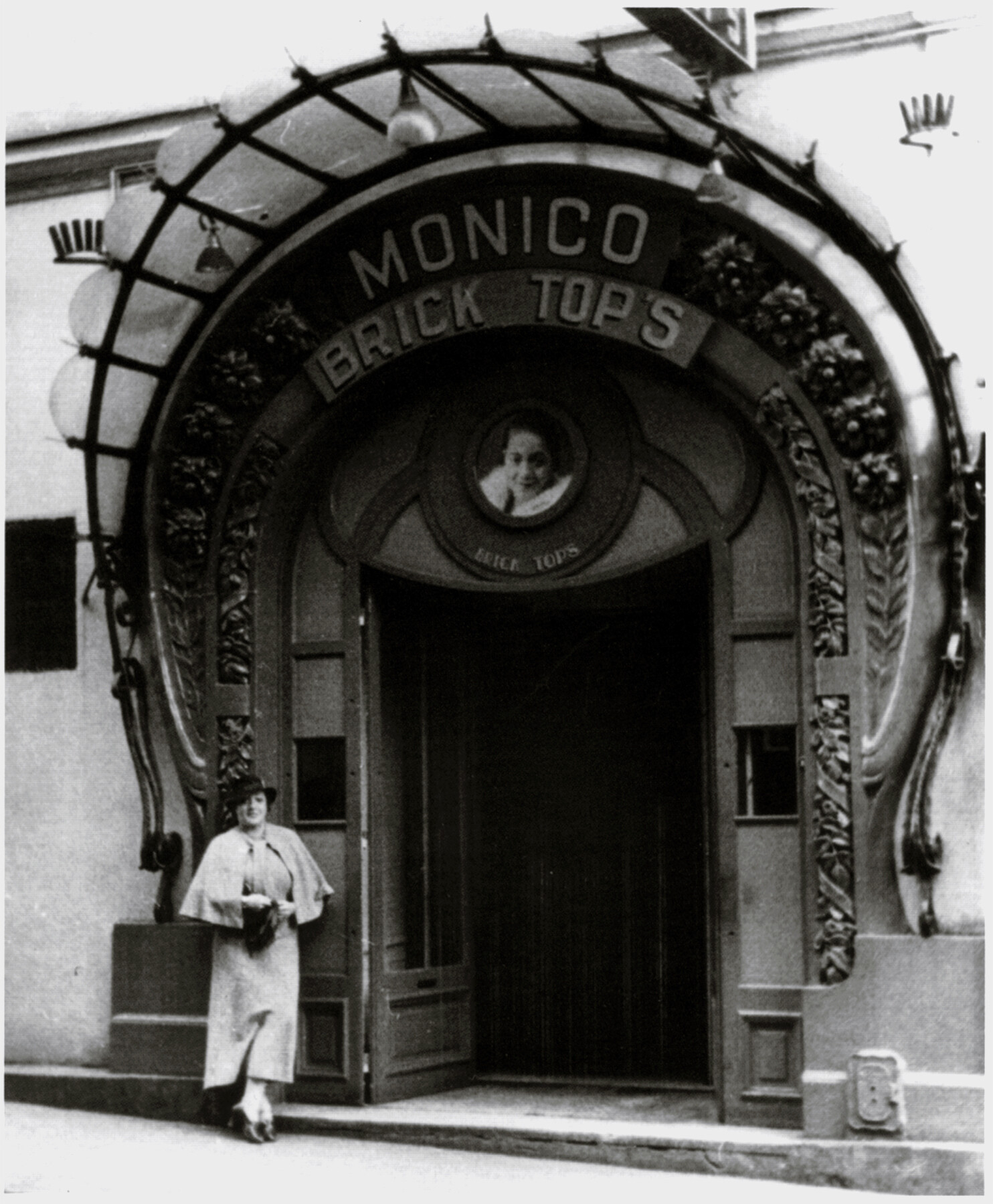 Bricktop_Monicos Entrance