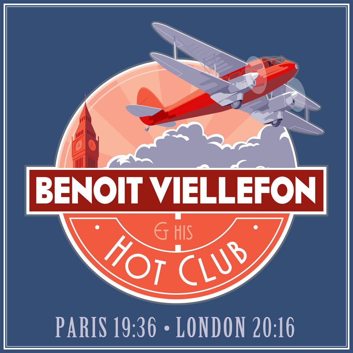 Benoit Viellefon Paris 19:36 - London 20:16