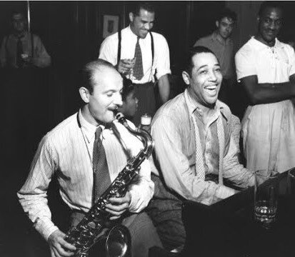 Bud Freeman with Duke Ellington'39