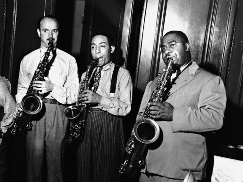 Bud Freeman Johnny Hodges and Chu Berry
