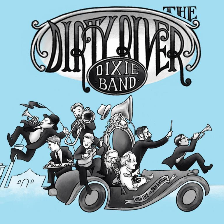 Dirty River Dixie Band High Life in San Antone