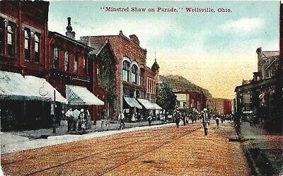 Wellsville Ohio Minstrel Parade