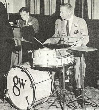 George Wettling drum